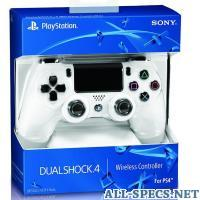 Sony Dualshock 4 Wireless Controller White 51070210