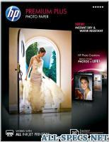 HP cr676a бумага premium plus glossy photo paper 20 листов 13x18 см 3798010
